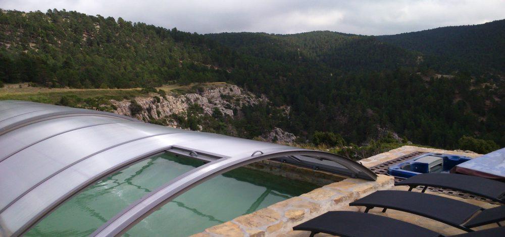 Peña Abantos piscina